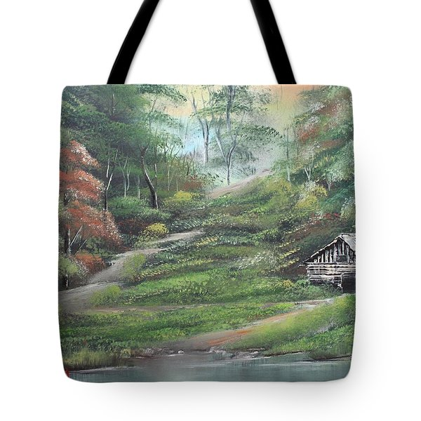 Light Down The River Tote Bag