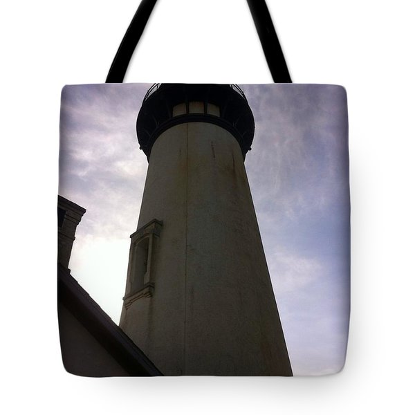 Tote Bag featuring the photograph  Light House Sky by Susan Garren