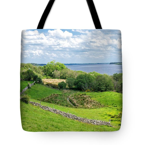 Tote Bag featuring the photograph  Loch Coirib by Juergen Klust