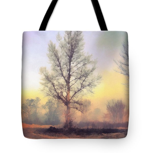Lonely Tree Tote Bag by Odon Czintos