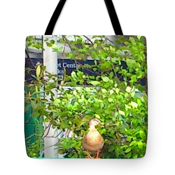 Look At Me Tote Bag