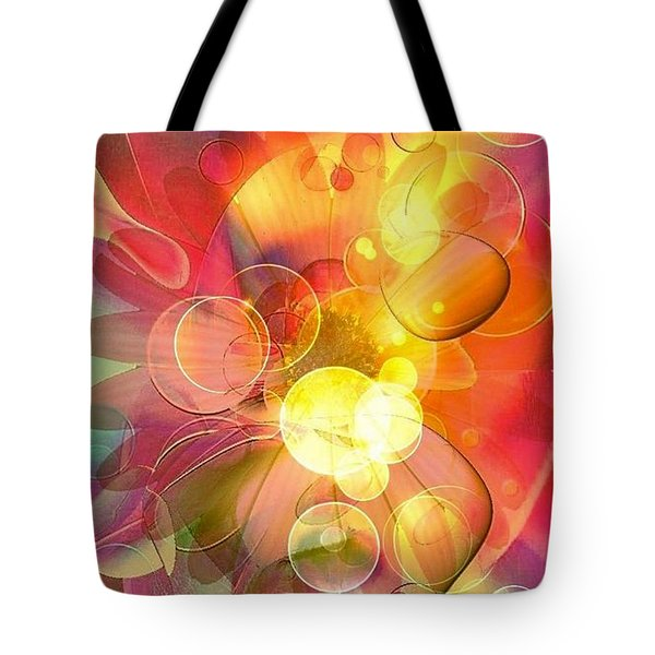 Tote Bag featuring the digital art  Magic By Nico Bielow by Nico Bielow