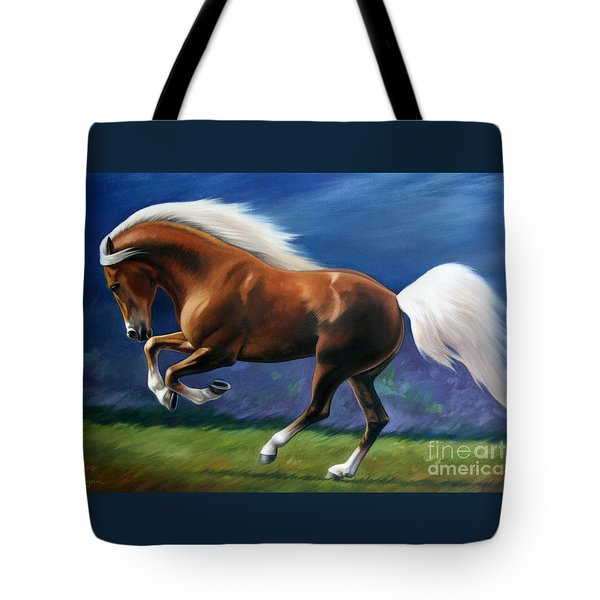 Magnificent Power And Motion Tote Bag
