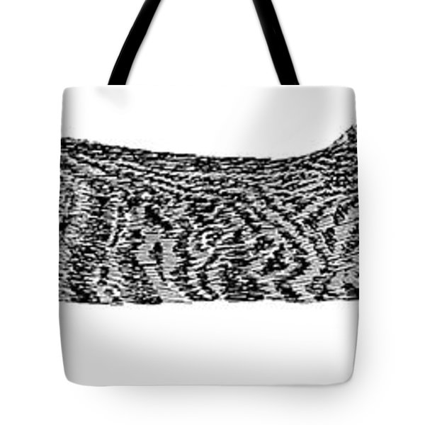 Skippy The Manx Cat Sleeping Tote Bag