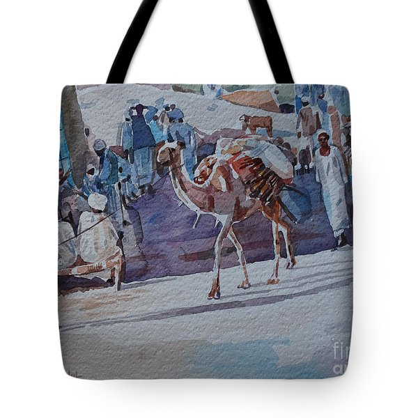 Market Tote Bag by Mohamed Fadul