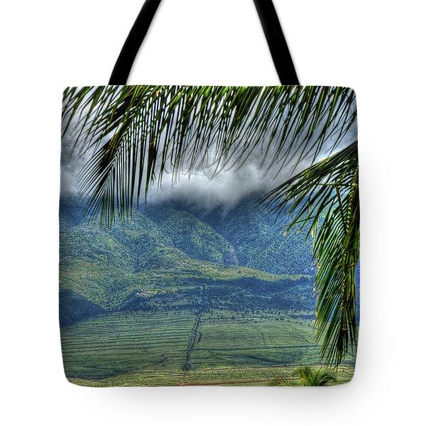 Maui Foot Hills Tote Bag
