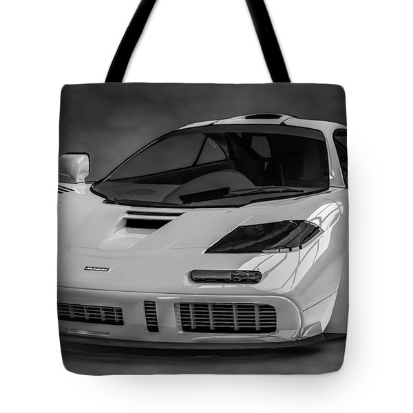 Mclaren F1 Lm Tote Bag by Louis Ferreira