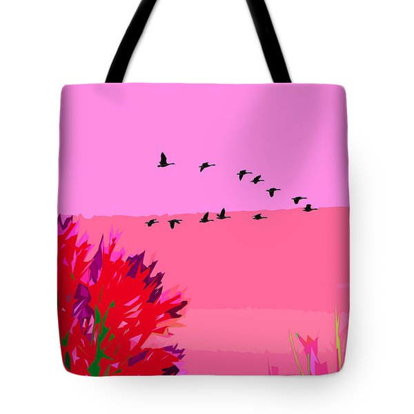 Migration 2 Tote Bag by John Freidenberg