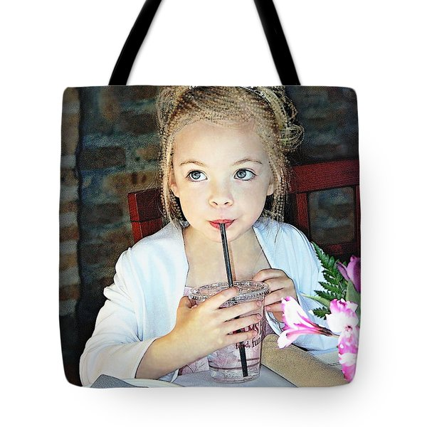 Mommy And Daddy's Little Princess Tote Bag by Danielle  Parent