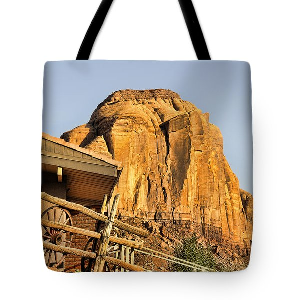 Monument Valley Holiday Tote Bag