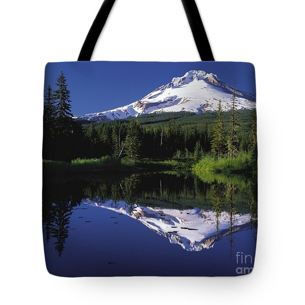 Tote Bag featuring the photograph  Mount Hood Oregon  by Paul Fearn