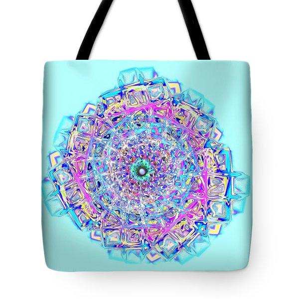 Murano Glass - Blue Tote Bag by Anastasiya Malakhova