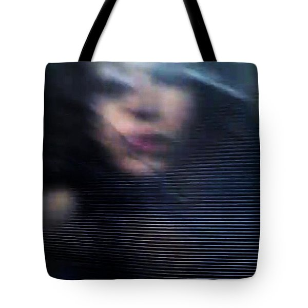 Tote Bag featuring the photograph  My Veneer by Jessica Shelton