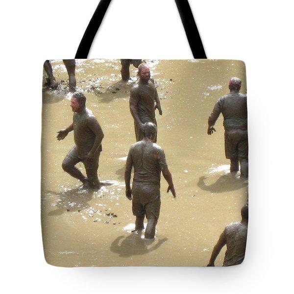 Nh North Conway Mud Ball Tote Bag