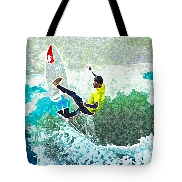 Off The Lip Tote Bag