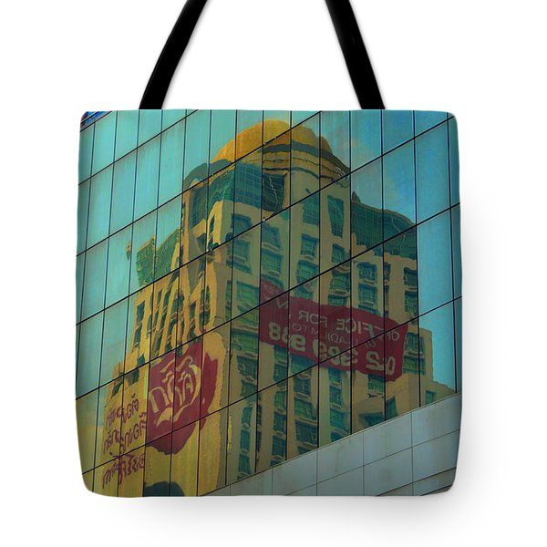Office For Sale Tote Bag by Michelle Meenawong