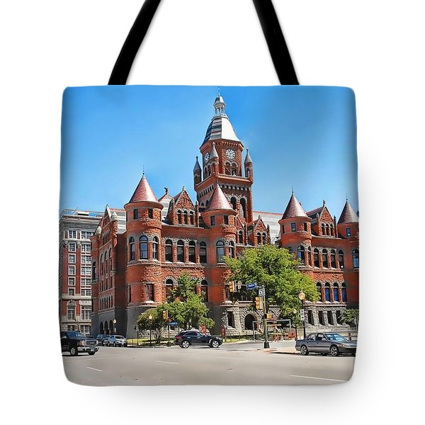 Tote Bag featuring the photograph   Old Red Museum - Dallas  by Dyle   Warren