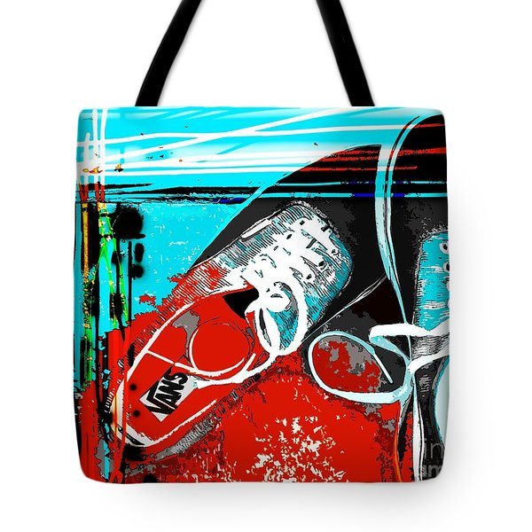 Tote Bag featuring the photograph  Old Van's by Everette McMahan jr