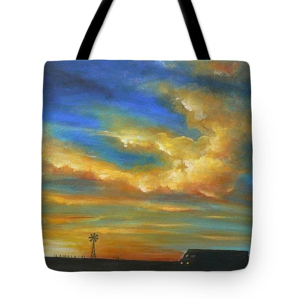 On Route 66 To Amarillo Tote Bag