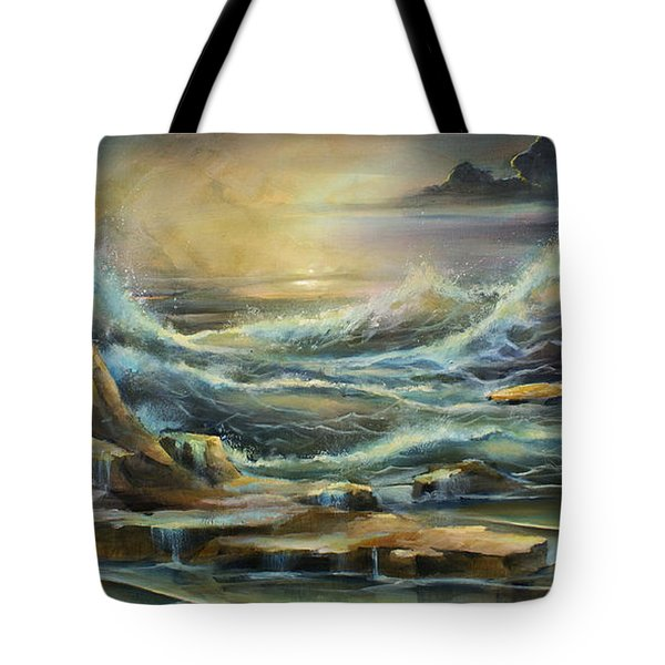 ' Ontario Evening ' Tote Bag by Michael Lang