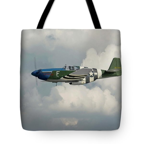 P51 Mustang Gallery - No1 Tote Bag by Pat Speirs