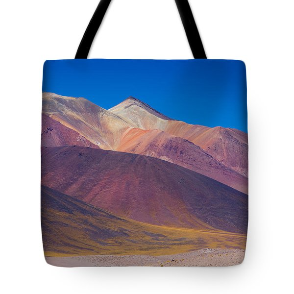 Painted Atacama Tote Bag