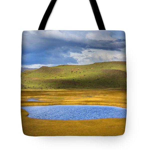 Patagonian Lakes Tote Bag