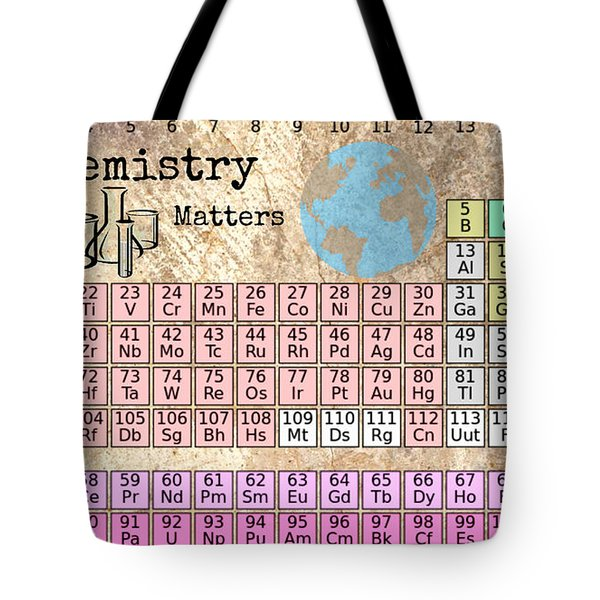 Periodic Table Of Elements Tote Bag