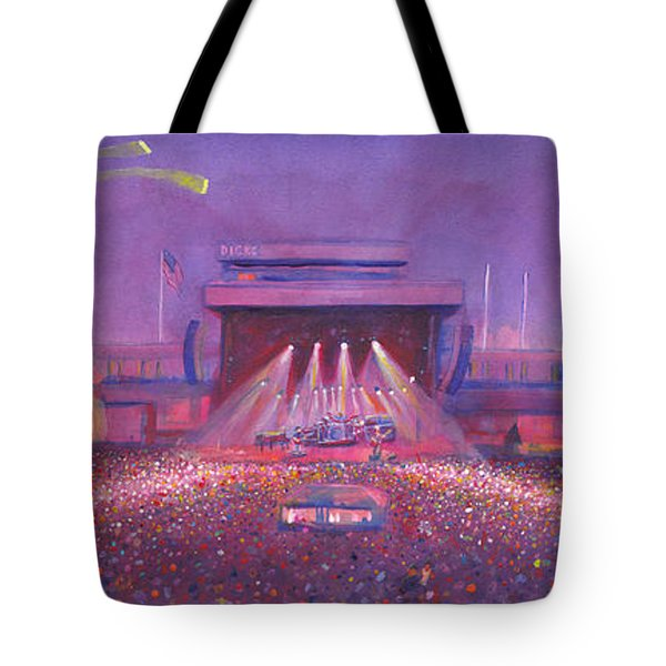 Phish At Dicks Tote Bag by David Sockrider