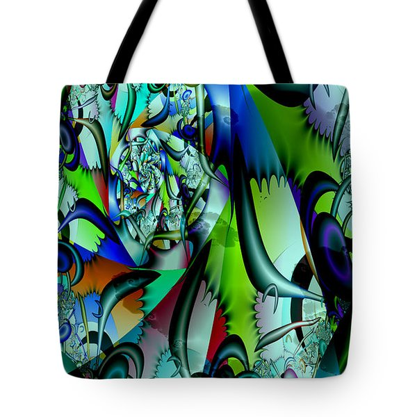 Picasso's Friend Tote Bag by Peter R Nicholls