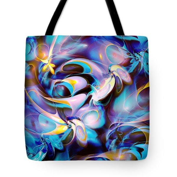 Pleasant Shapes Tote Bag by Anastasiya Malakhova