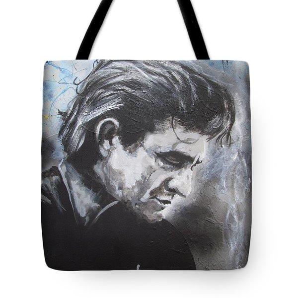 Prison Blues Tote Bag