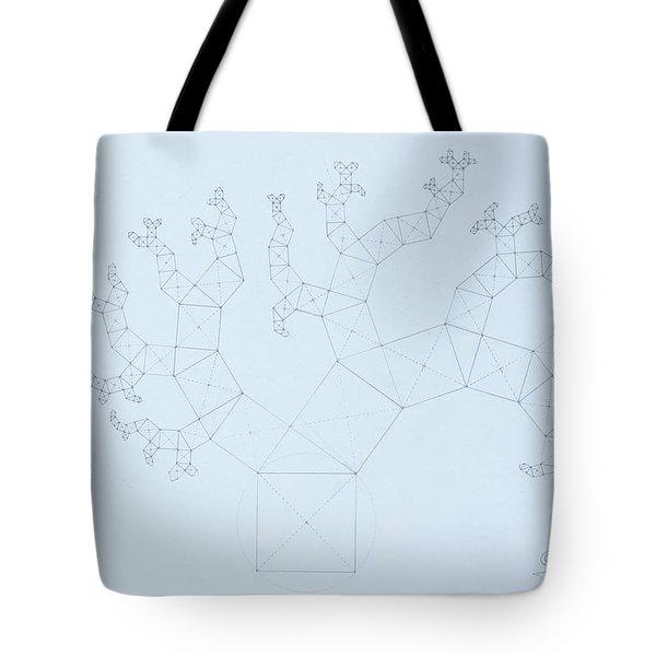 Quantum Tree Tote Bag