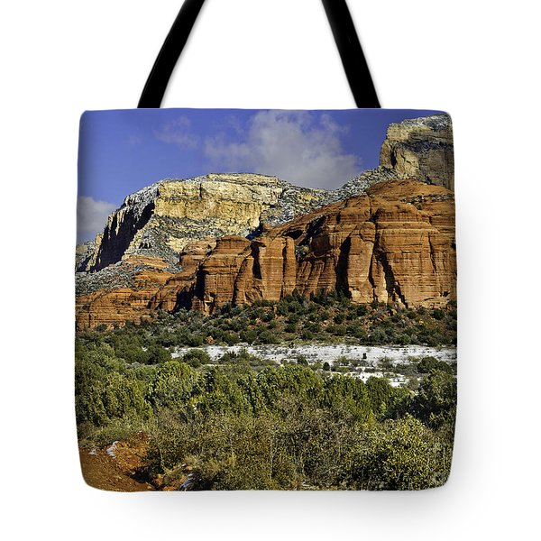 Red Rock-secret Mountain Wilderness Tote Bag