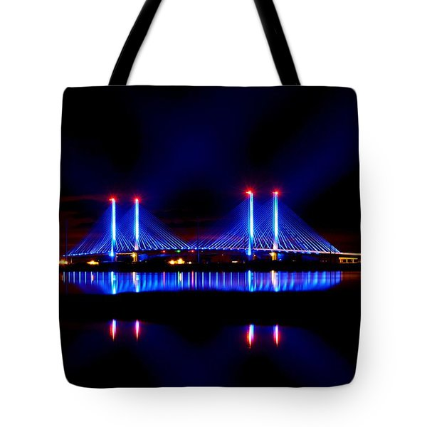 Reflecting Bridge - Indian River Inlet Bridge Tote Bag