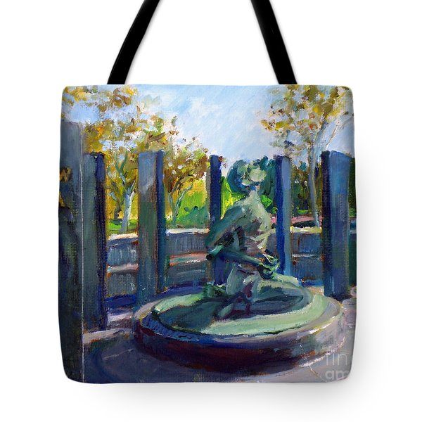 Riverside National Cemetery Pow Mia Memorial Tote Bag