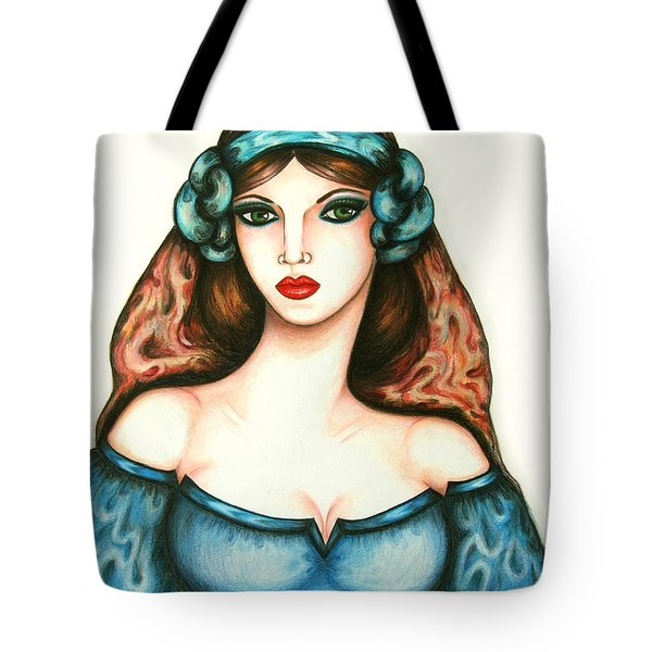 Roman Woman Tote Bag