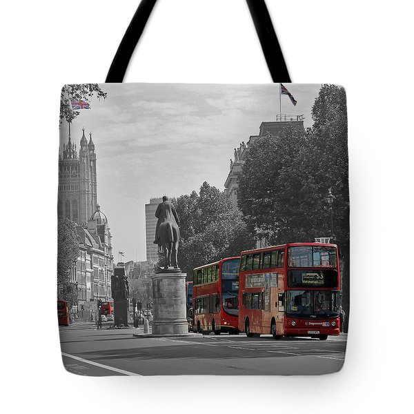 Routemaster London Buses Tote Bag