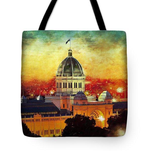 Royal Exhibition Building Tote Bag