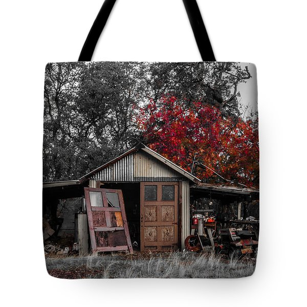 Tote Bag featuring the photograph  Rulled By My Antiquities by Mitch Shindelbower