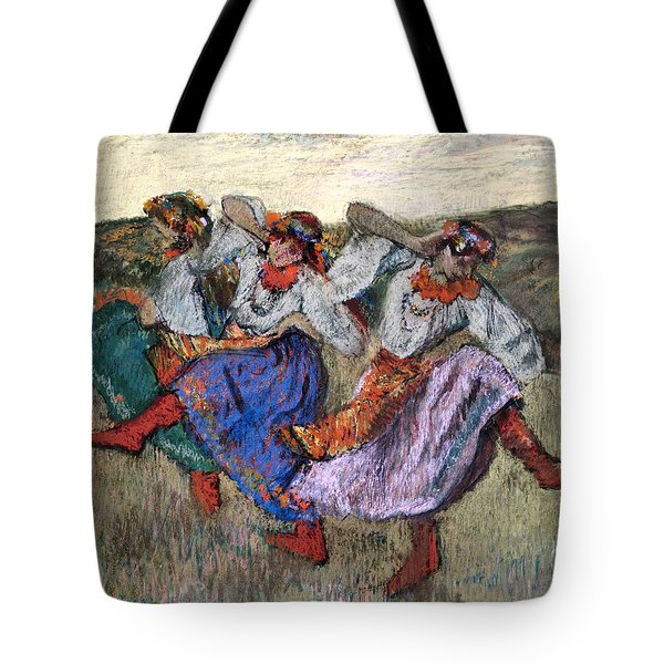Russian Dancers Tote Bag