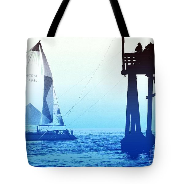 Tote Bag featuring the photograph  Saturdays by Everette McMahan jr