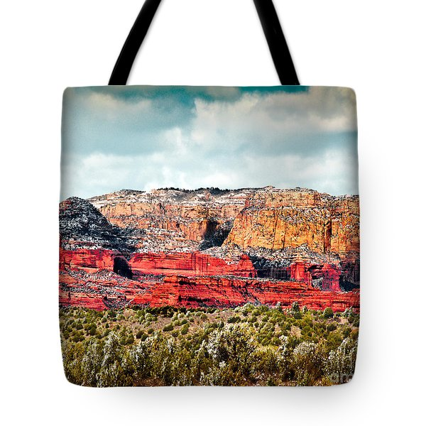 Secret Mountain Wilderness Sedona Arizona Tote Bag