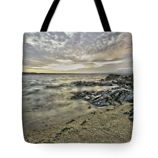 Skerries Ocean View Tote Bag by Martina Fagan