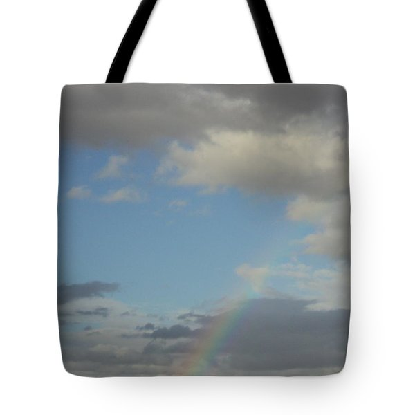 Tote Bag featuring the photograph  Skys The Limit by Carla Carson