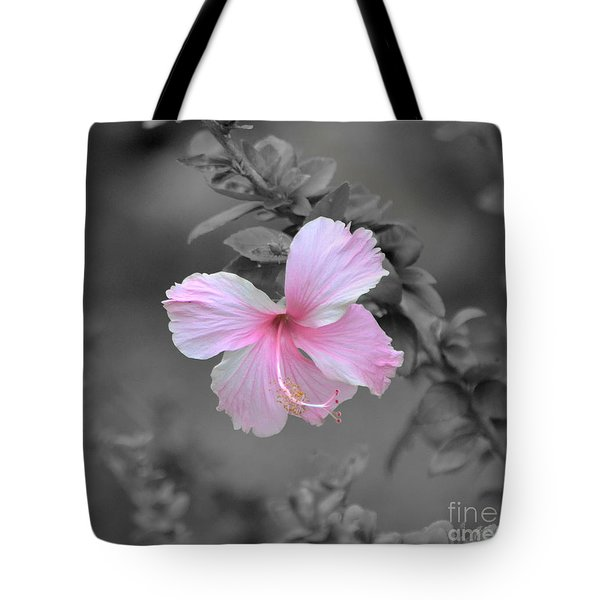 Soft Pink Tote Bag by Michelle Meenawong