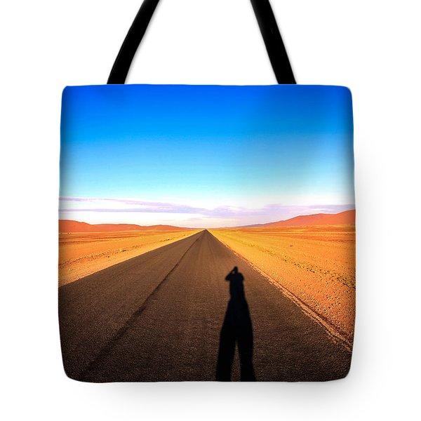 Sossusvlei Park Road Tote Bag