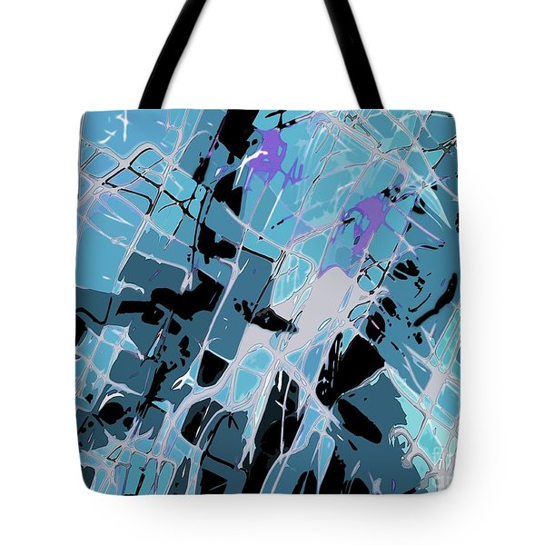Spiderweb Got Me Tote Bag