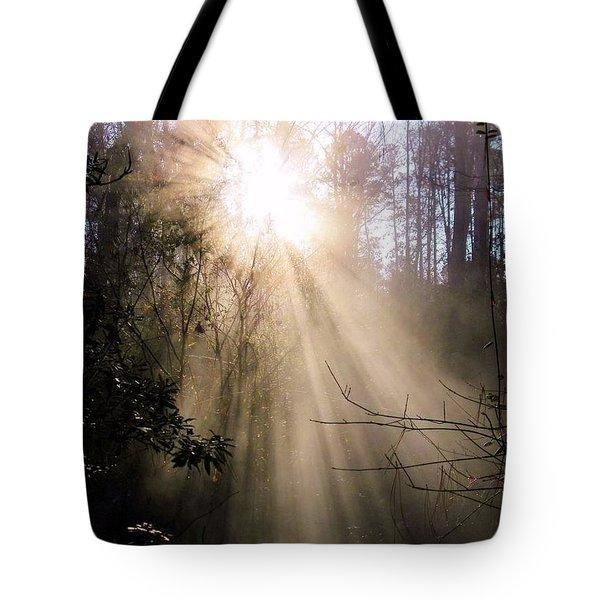 Sunrise Of Faith Tote Bag