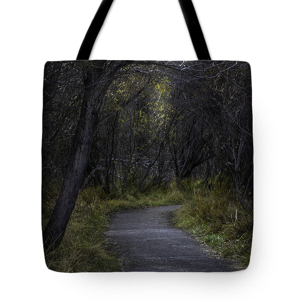 Tote Bag featuring the photograph  Stroll by Mitch Shindelbower